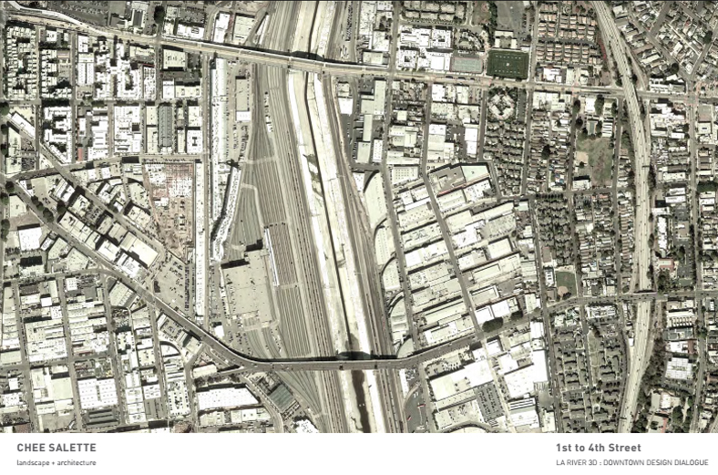 Los Angeles River - Downtown - Chee Salette