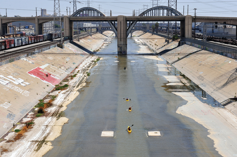 Los Angeles River - Tom Andrews