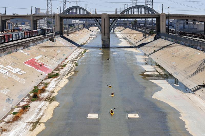 Los Angeles River - Tom Andrews