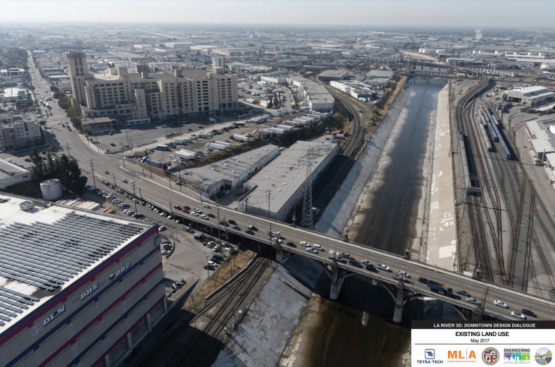 Los Angeles River - Downtown - Tetratech