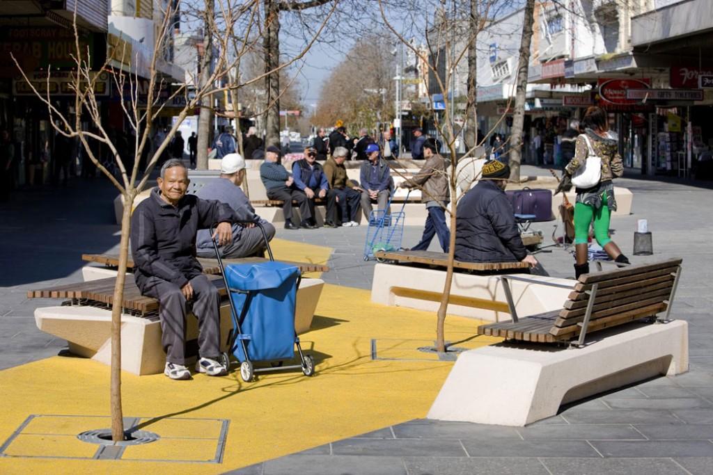 Nicholson Street Mall - Hassell - Footscray, Victoria, Australie - Dianna Snape