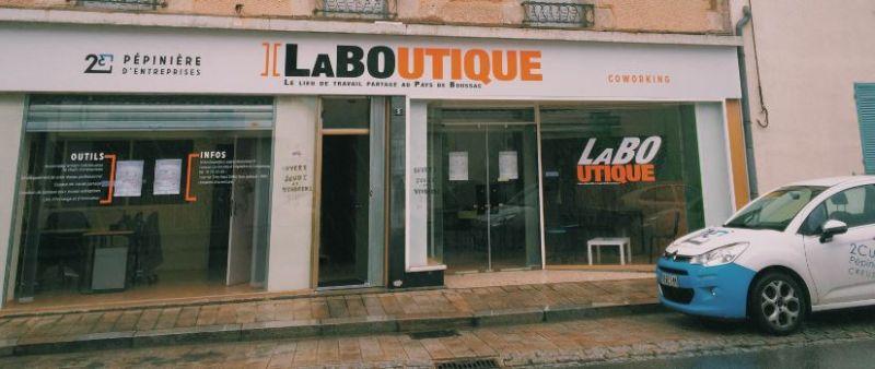 La Boutique, Espace de coworking de la Communauté de communes du Pays de Boussac (Creuse)