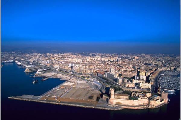 le site du MUCEM, à Marseille