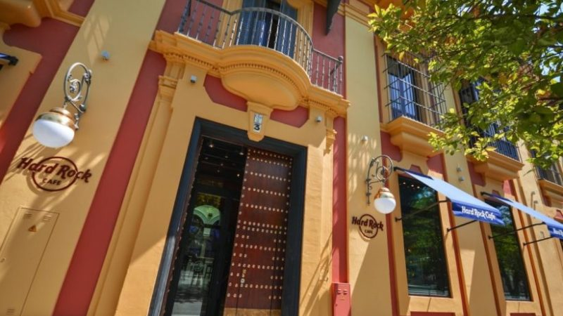 Hard Rock Cafe Sevilla: un imprescindible en el centro