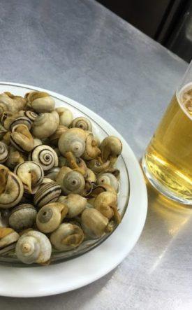 caracoles en Sevilla