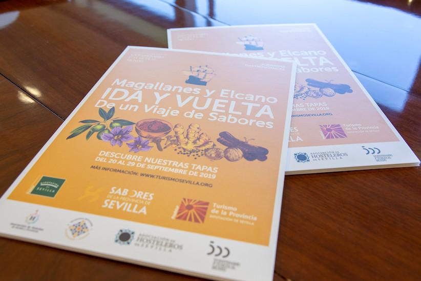 La gastronomía sevillana se une a la conmemoración de la Primera Vuelta al Mundo