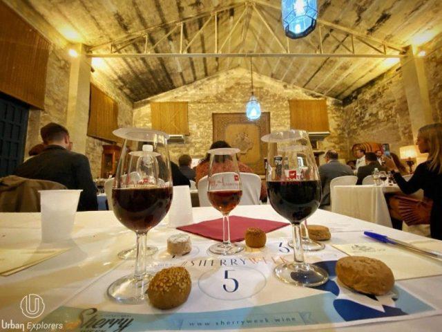Mantecados de Estepa y vinos de Jerez