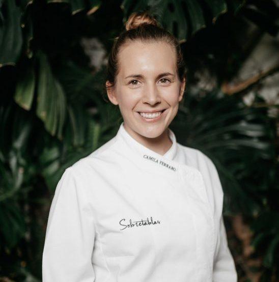 Camila Ferraro, candidata a mejor cocinera revelación Madrid Fusión 2020