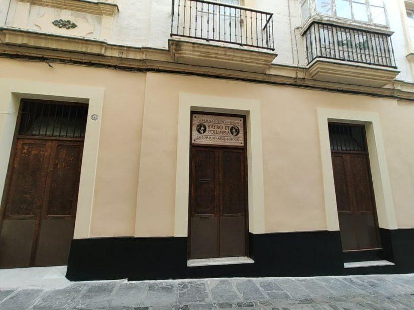 Balbo y Columela vuelven al barrio del Pópulo de Cádiz
