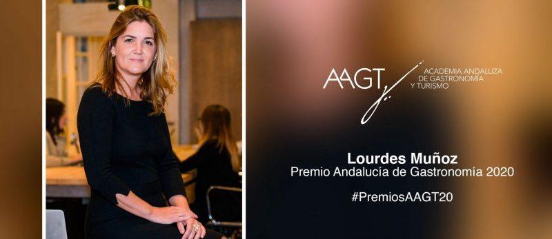 Lourdes Muñoz, del Grupo Dani García, premio Andalucía de Gastronomía 2020