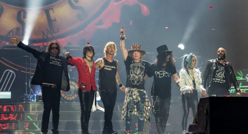 Se aplaza el concierto de Guns N' Roses en Sevilla por el coronavirus
