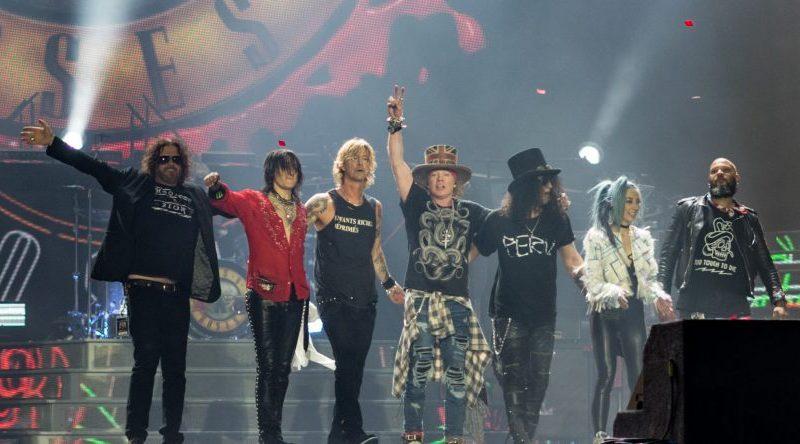 Guns N' Roses actuará en el Benito Villamarín el 5 de junio de 2021