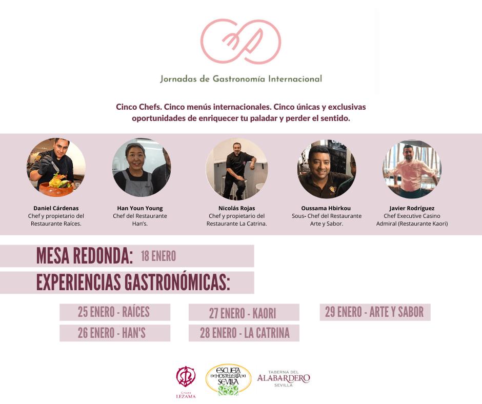 Jornadas de Gastronomía Internacional en la Escuela de Hostelería