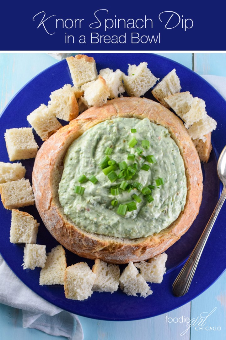 This modified Knorr Spinach Dip recipe is just like the classic version you know and love, only better and healthier!