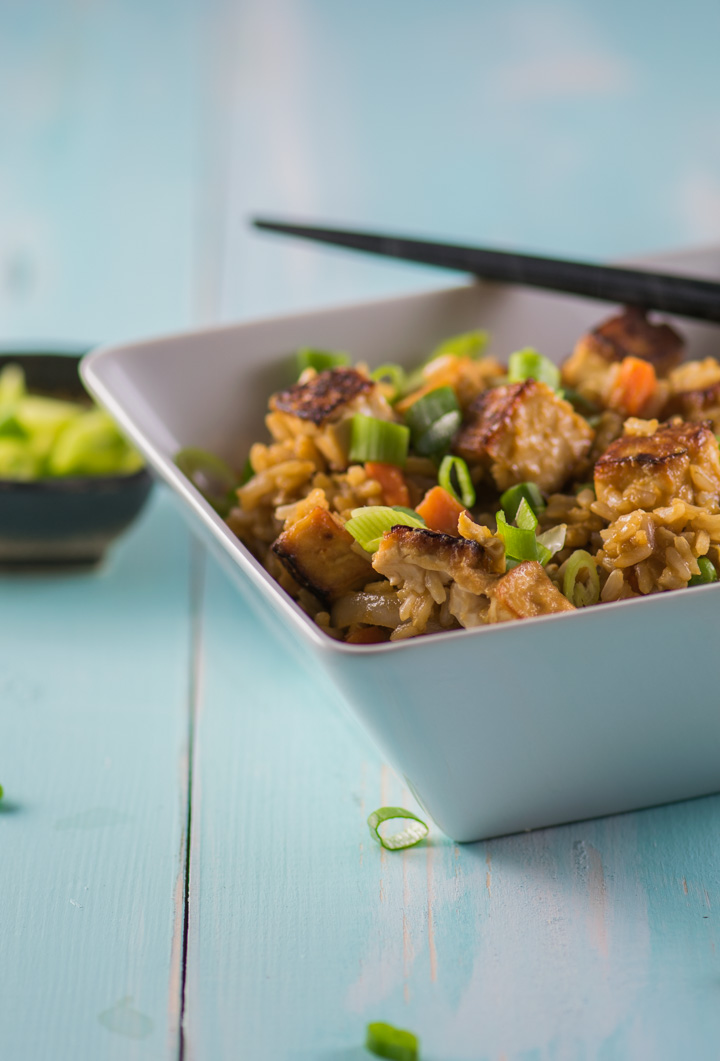 Ginger Tofu Fried Rice