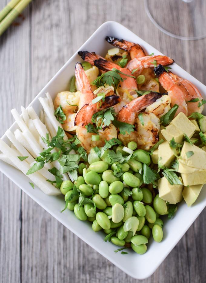 Shrimp & Udon Noodle Bowl