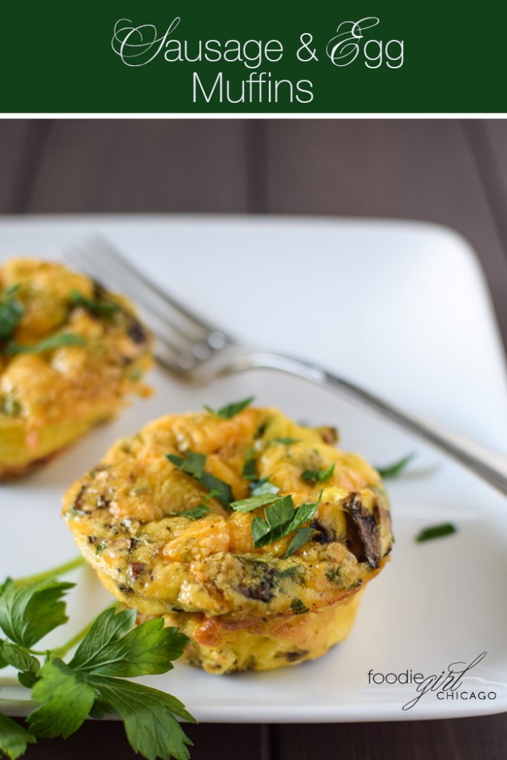 Always have a healthy, tasty breakfast on hand with these mini turkey sausage frittata muffins.  They are the perfect solution for make-ahead breakfast or breakfast on the go!