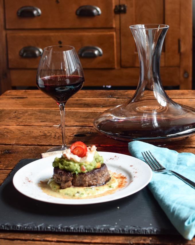 Berneau Block Pinot Noir & Steak