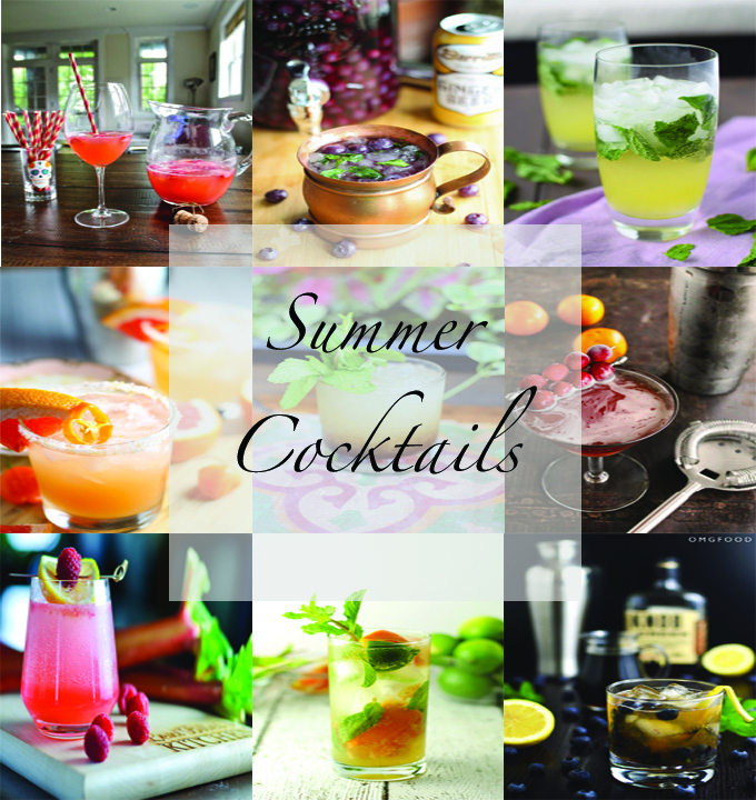 Summer Cocktails Round-Up