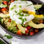 Quinoa Breakfast Bowl with Poached Egg