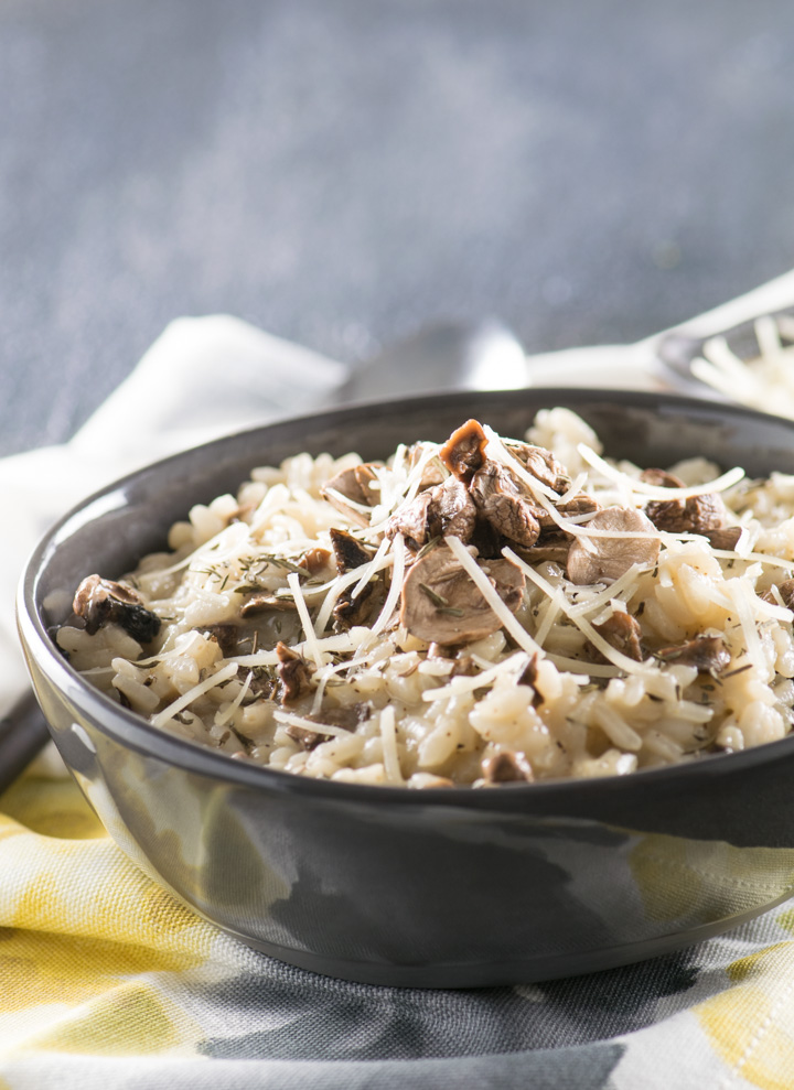 Mushroom Risotto with Truffle