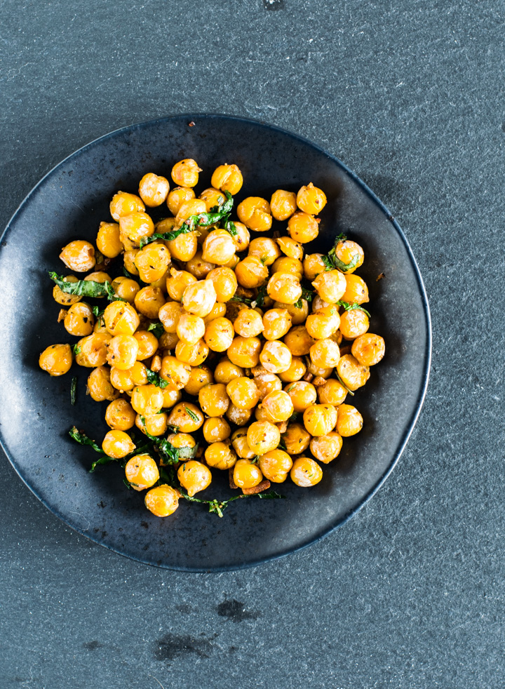 Crispy Herbed Chickpeas