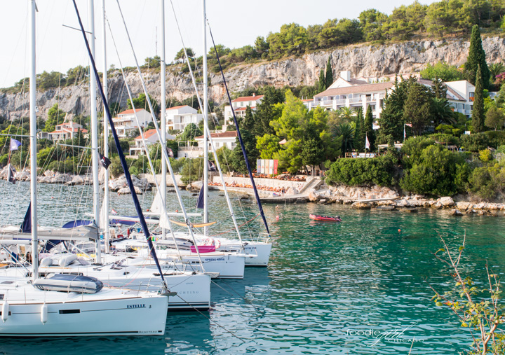 Sailing in Hvar, Croatia