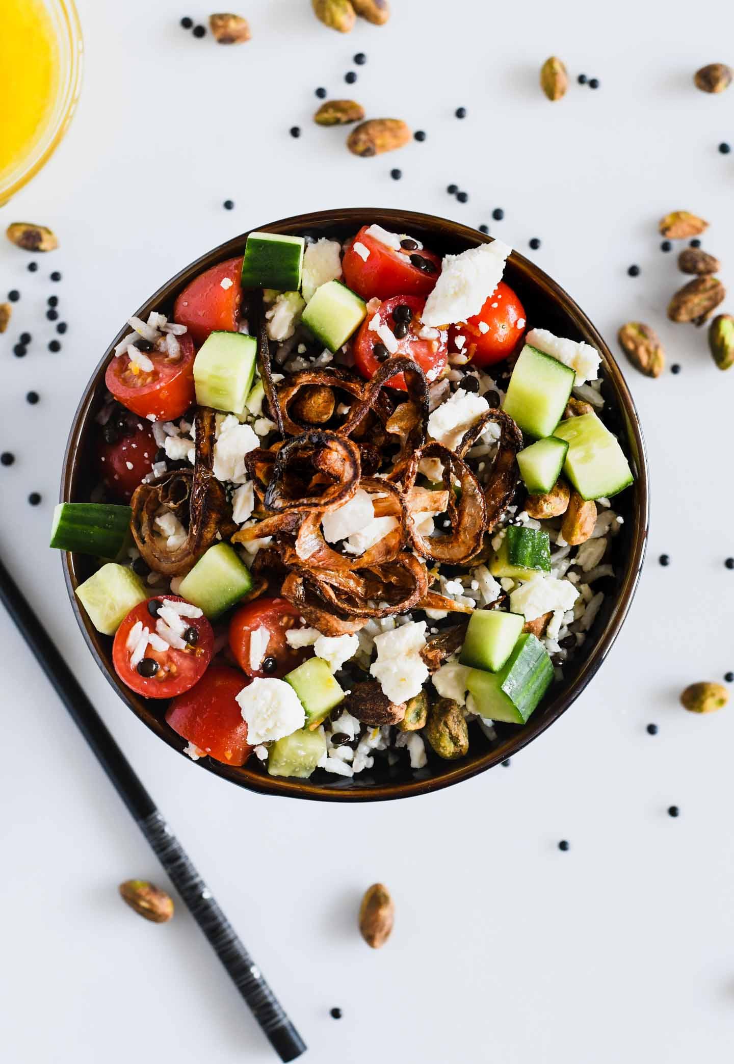 Beluga Lentil And Basmati Rice Salad A Unique Lentil Recipe