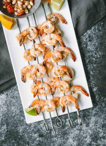 Margarita Grilled Shrimp Skewers