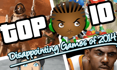 Top 10 Disappointing Games of 2014
