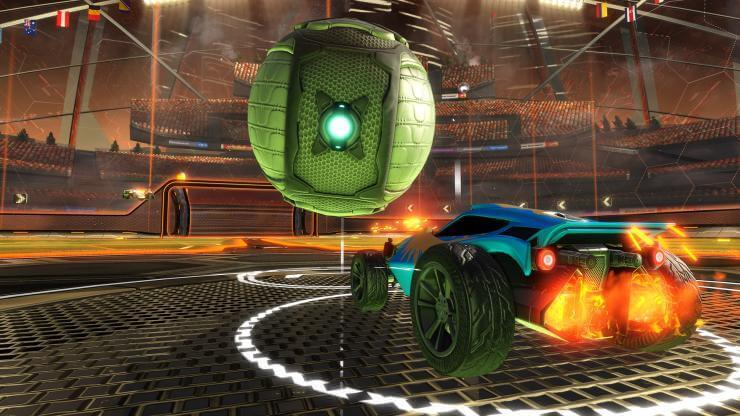 Free Portal DLC from Rocket League This Week