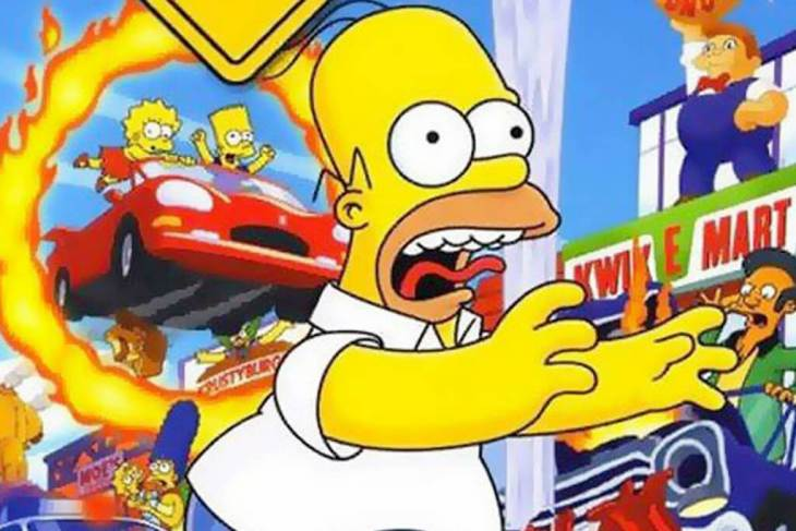 Top 5 Simpsons Games of All Time top 5 simpsons games of all time Top 5 Simpsons Games of All Time simpson hit and run