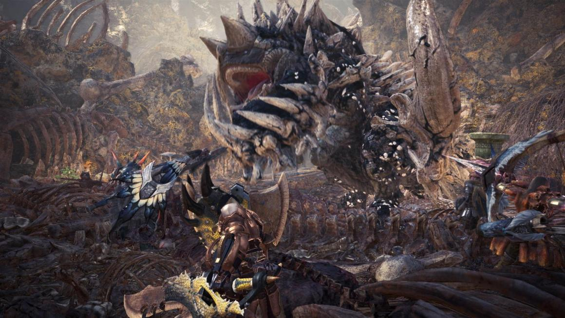 Monster Hunter: World shipments and digital sales Announced