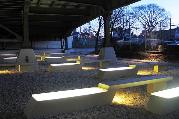 Urban space lighting design: urban landscape design trends growing