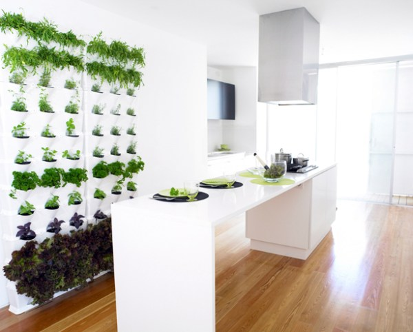 indoor vertical garden system Mini Vertical Garden for Balcony, Patio, or Kitchen