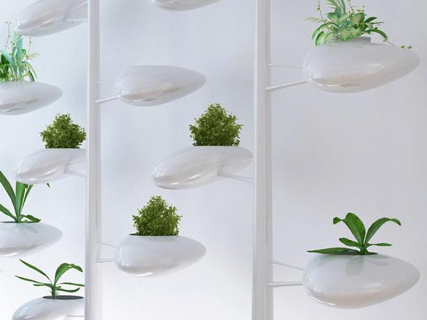 Self-Watering Indoor Hydroponic Vertical Garden System