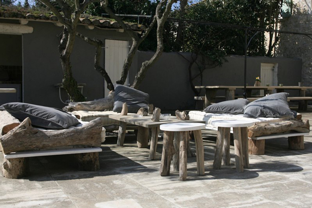 The sophisticated ... - New Indoor-Outdoor Furniture Collection Blends Driftwood With Modern