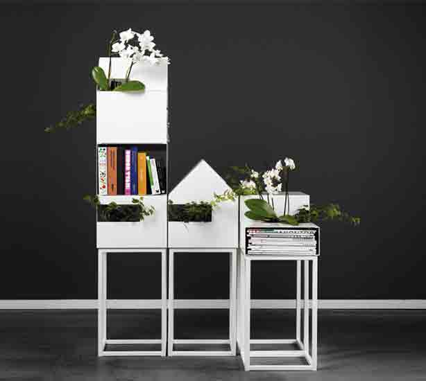 Street, planter and modular furniture by A2