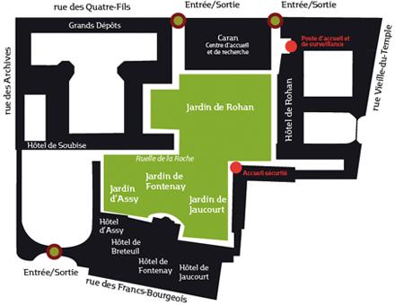 jardins-archives-nationales-paris-plan
