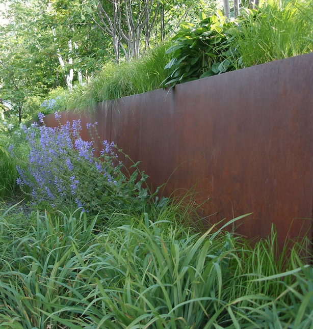 corten-steel-planter-walls