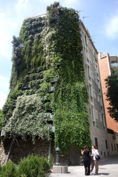 "vertical garden in barcelona Travel: Private ""Vegitecture"" Tour of Jardí Tarradellas"