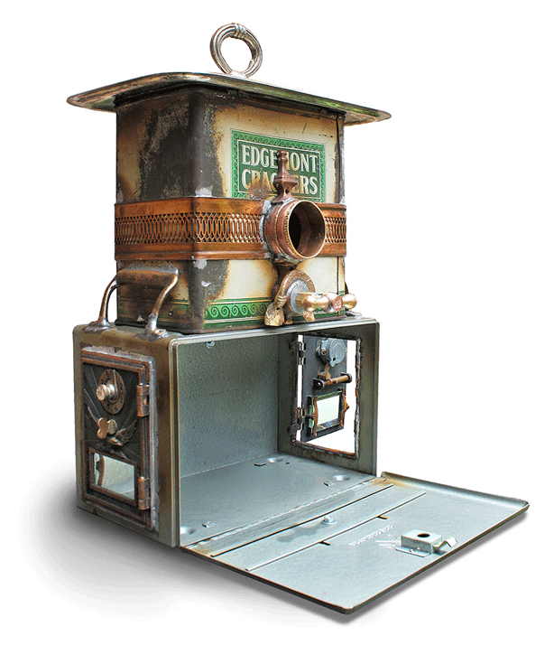 Brian-Carlisle-Birdhouse-made-from-recycled-upcycled-kitchenware-Retrash