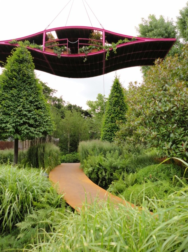 Irish Sky Garden designed by Diarmuid Gavin