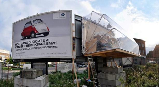 Billboard house by Karl Philips