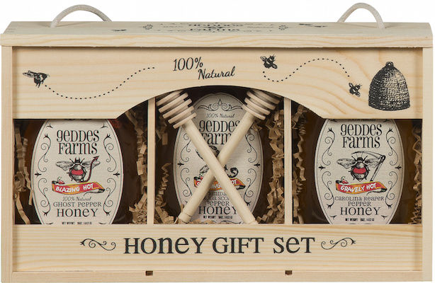 Spicy hot honey gift