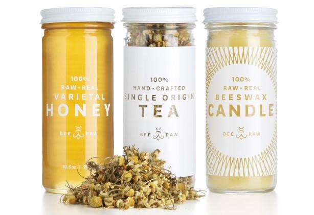 BEE RAW honey gift set