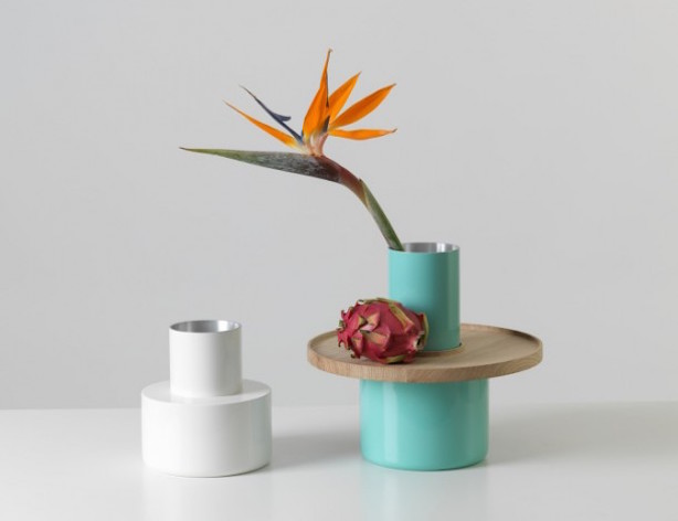 Vase and Tray Combo