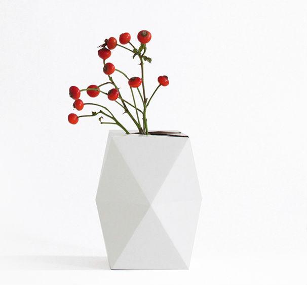 Low White Vase Urban Gardens Roundup