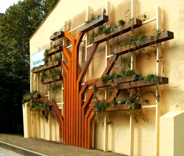 Tree Shaped Vertical Garden