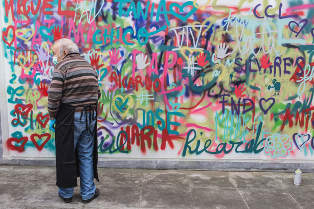 Grandparent Graffiti Artists